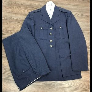 Other - 1950s Blue USAF Air Force Dress Suit 35R